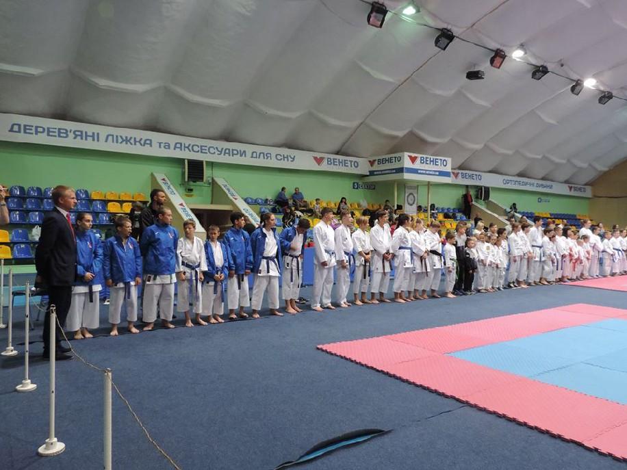 ІI Відкритий Чемпіонат України з карате World JKA Association