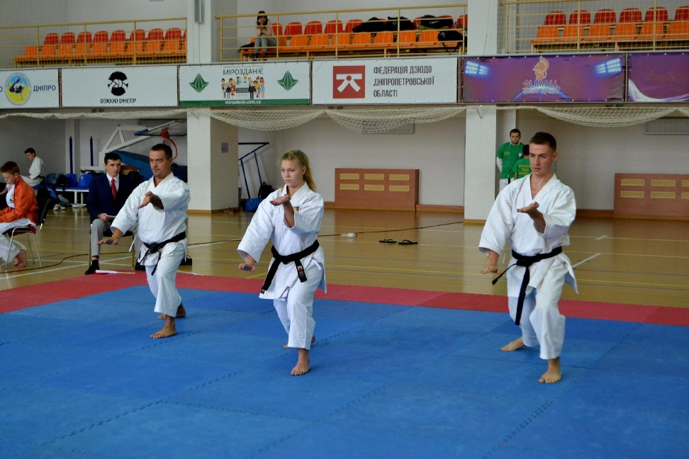 ХІІІ Кубок України та Кубок нації з Фунакоші шотокан карате