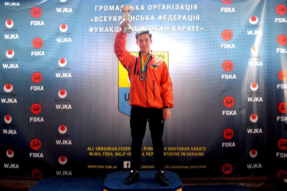15 Чемпіонат України з Фунакоші шотокан карате