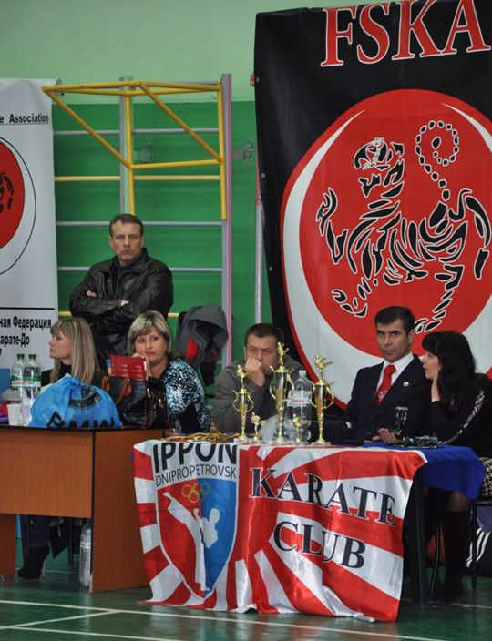 VIII Кубок України з Фунакоші Шотокан Карате (FSKA)